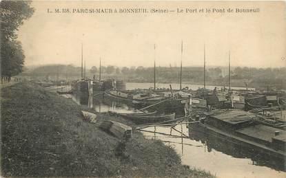 """CPA FRANCE 94 """"Parc Saint Maur à Bonneuil"""""""