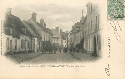 "CPA FRANCE 78 ""Rochefort en Yvelines, rue de la Poste"""
