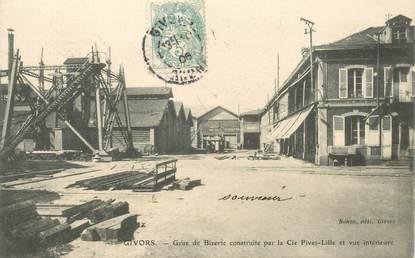 "CPA FRANCE 69 ""Givors, la grue de Bizerte"""