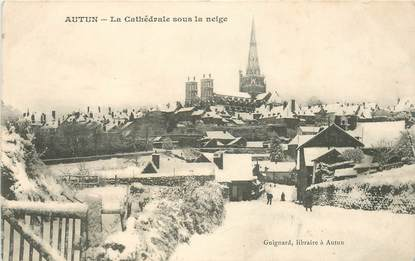 "CPA FRANCE 71 ""Autun, la cathédrale"""