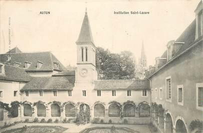 "CPA FRANCE 71 ""Autun, Institution Saint Lazare"""