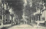 """38 Isere / CPA FRANCE 38 """"Beaurepaire, bld de la gare"""""""