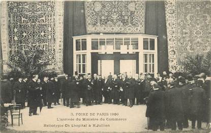 """CPA FRANCE 75 """"Paris, la Foire de Paris de 1906"""""""