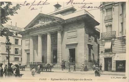 """CPA FRANCE 75008 """"Paris, Eglise Saint Philippe du Roule"""""""