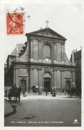 """CPA FRANCE 75002 """"Paris, Eglise Notre Dame des Victoires"""""""