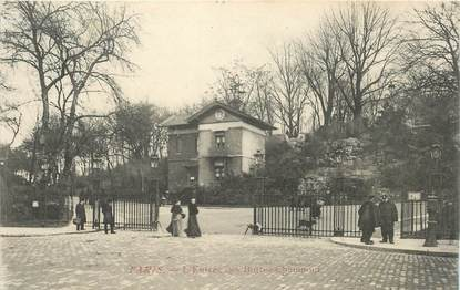 "CPA FRANCE 75019 ""Paris, les Buttes Chaumont"""