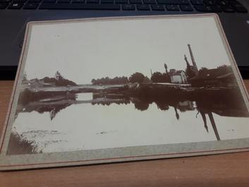 """PHOTO FRANCE 52 """"Pont neuf à Saint Dizier, 1896"""""""