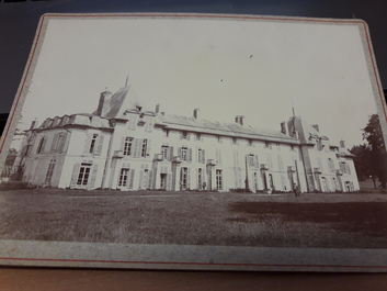 "PHOTO FRANCE 02 ""Chateau de la Malmaison, 1895"""