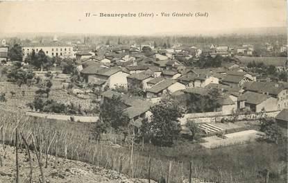 """/ CPA FRANCE 38 """"Beaurepaire, vue générale sud"""""""