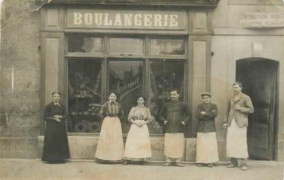 CARTE PHOTO FRANCE NON SITUÉE / BOULANGERIE