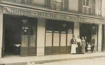 CARTE PHOTO FRANCE NON SITUÉE / CAFÉ RESTAURANT