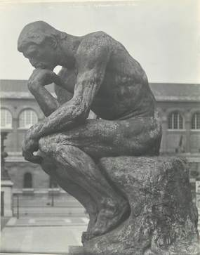 PHOTO NU / Le Penseur de Rodin