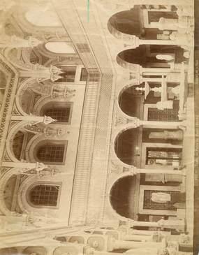 "PHOTO TUNISIE ""Tunis, Patio du Musée Bardo"""