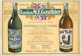 """Vieux Papier CPA LIVRET FRANCE 77 """"Montereau, distillerie Lucien M.E. GAUTHIER"""""""