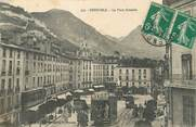 "38 Isere / CPA FRANCE 38 ""Grenoble, la place Grenelle"""