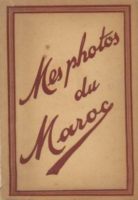 """LOT 12 PHOTOS MAROC """"Scènes et Types"""" dans pochette"""