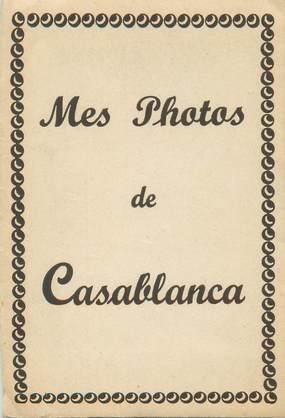 """LOT 10 PHOTOS MAROC """"Casablanca"""" dans pochette"""