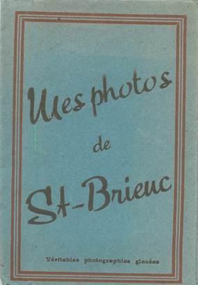 """LOT 12 PHOTOS FRANCE 22 """"Saint Brieuc"""" dans pochette"""