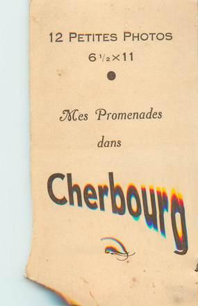 """LOT 12 PHOTOS FRANCE 50 """"Cherbourg"""" dans pochette"""