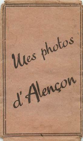 "LOT 12 PHOTOS FRANCE 61 ""Alençon"" dans pochette"