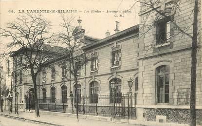 """CPA FRANCE 94 """"La Varenne Saint Hilaire, Les Ecoles """""""
