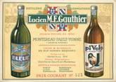 """Vieux Papier CPA / PETIT PAPIER FRANCE 77 """"Montereau Fault Yonne"""" / VIN / ALCOOL / PUB LICITE"""