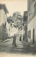 """38 Isere / CPA FRANCE 38 """"Crémieu, rue des Augustins et le château Delphinal"""""""