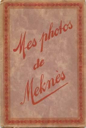 """LOT 12 PHOTOS MAROC """"Meknès"""" dans pochette"""