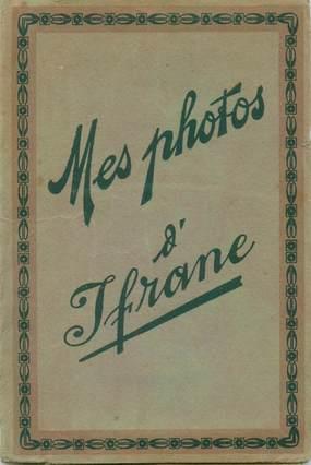 "LOT 12 PHOTOS MAROC ""Ifrane"" dans pochette"