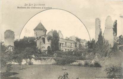 "CPA FRANCE 46 ""Assier, le Chateau"""