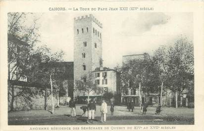 """CPA FRANCE 46 """"Cahors, la Tour du Pape Jean XXII"""""""