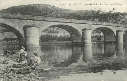 """CPA FRANCE 46 """"Cahors, le Pont"""""""