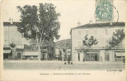 "CPA FRANCE 46 ""Cahors, le Boulevard Gambetta"""