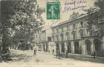 "CPA FRANCE 46 ""Cahors, l'Hotel"""