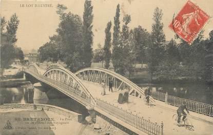 """CPA FRANCE 46 """"Castelnau-Bretenoux, le Pont"""""""