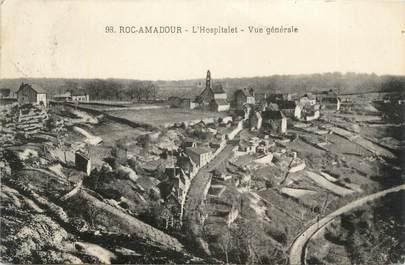"""CPA FRANCE 46 """"Roc-Amadour, l'Hospitalet"""""""