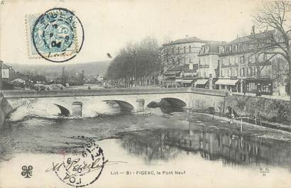 "CPA FRANCE 46 ""Figeac, le Pont"""