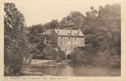 "CPA FRANCE 46 ""Figeac, le Moulin"""