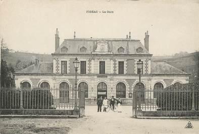 """CPA FRANCE 46 """"Figeac, la Gare"""""""