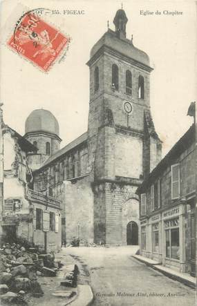 "CPA FRANCE 46 ""Figeac, l'Eglise"""
