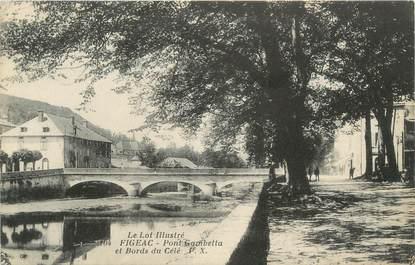 "CPA FRANCE 46 ""Figeac, le Pont"""
