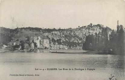 "CPA FRANCE 46 ""Gluges, les rives"""