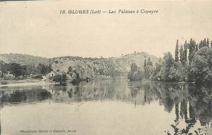 "CPA FRANCE 46 ""Gluges, les Falaises"""