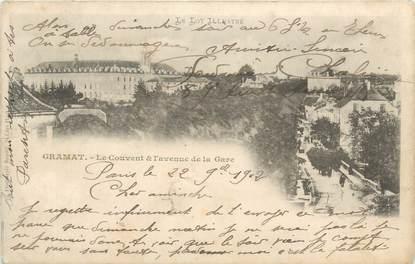 """CPA FRANCE 46 """"Gramat, le Couvent"""""""