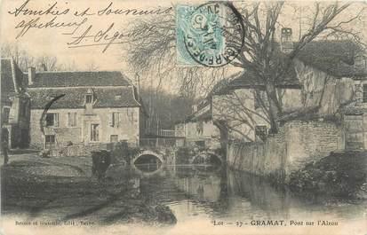 """CPA FRANCE 46 """"Gramat, le Pont"""""""