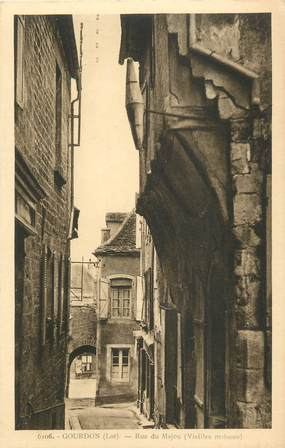 "CPA FRANCE 46 ""Goudron, rue du Majou"""