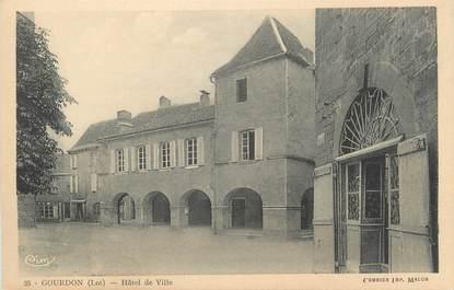 "CPA FRANCE 46 ""Goudron, Hotel de Ville"""