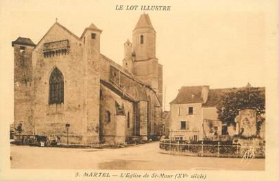 """CPA FRANCE 46 """"Martel, l'Eglise"""""""