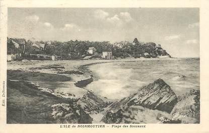 """CPA FRANCE 85 'Ile de Noirmoutier, plage des Souzeaux"""""""