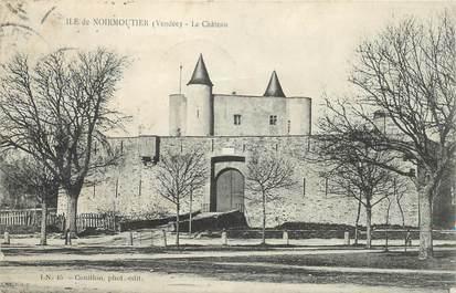 """CPA FRANCE 85 'Ile de Noirmoutier, le chateau"""""""